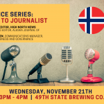 More Than Ice Series: Journalist to Journalist